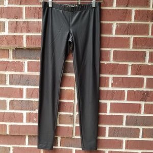 Womens Guess faux leather pants